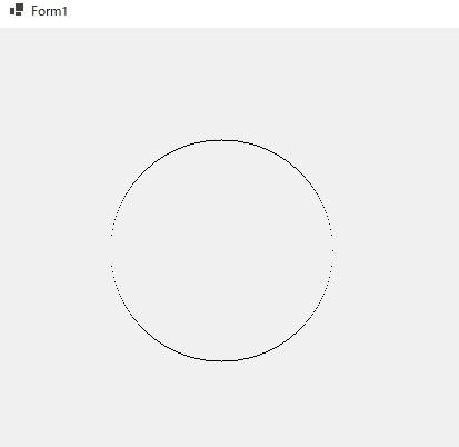 Windows Formで円の関数を使って円グラフを描画する