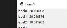 hの値を小さくしたときの微分の精度の変化